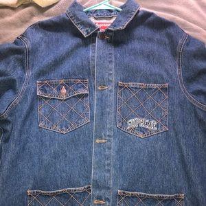 Supreme jean jacket XL